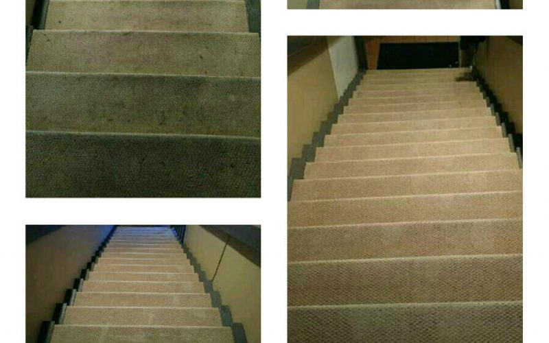 Stairs cleaning- 1