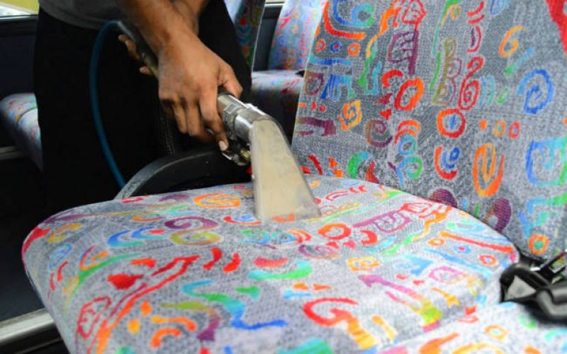 bus sit cleaning